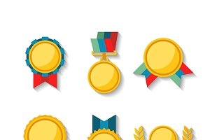 Awards & medals set