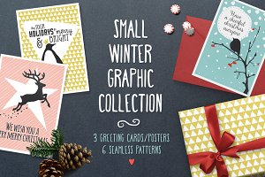 Small Winter Graphic Collection