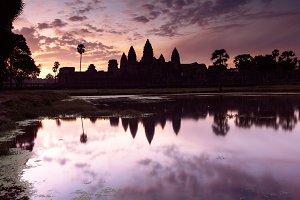Angkor Wat sunrise, Cambodia
