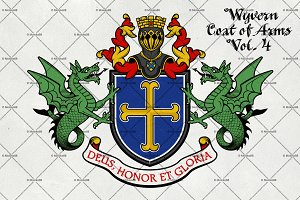 Coat of Arms of Knight.Vol. 4