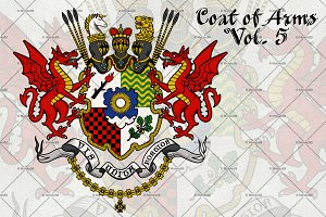 Coat of Arms of Knight.Vol. 5