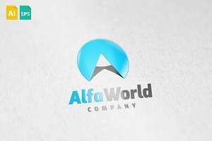 Alfa World Logo