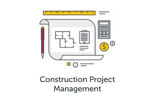 Construction Project Management icon