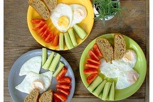 breakfast for three