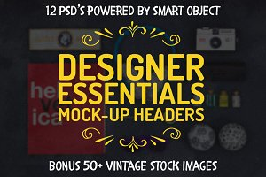 Designer Essentials Hero Mock-ups