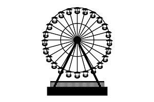 Park Atraktsion Ferris Wheel