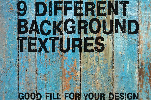 9 different background textures