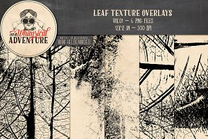 Leaf Texture Overlays