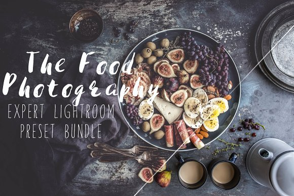 30Food Photography Lightroom Presets