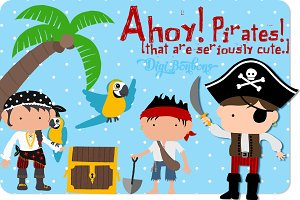 Ahoy, Very Cute Pirates!