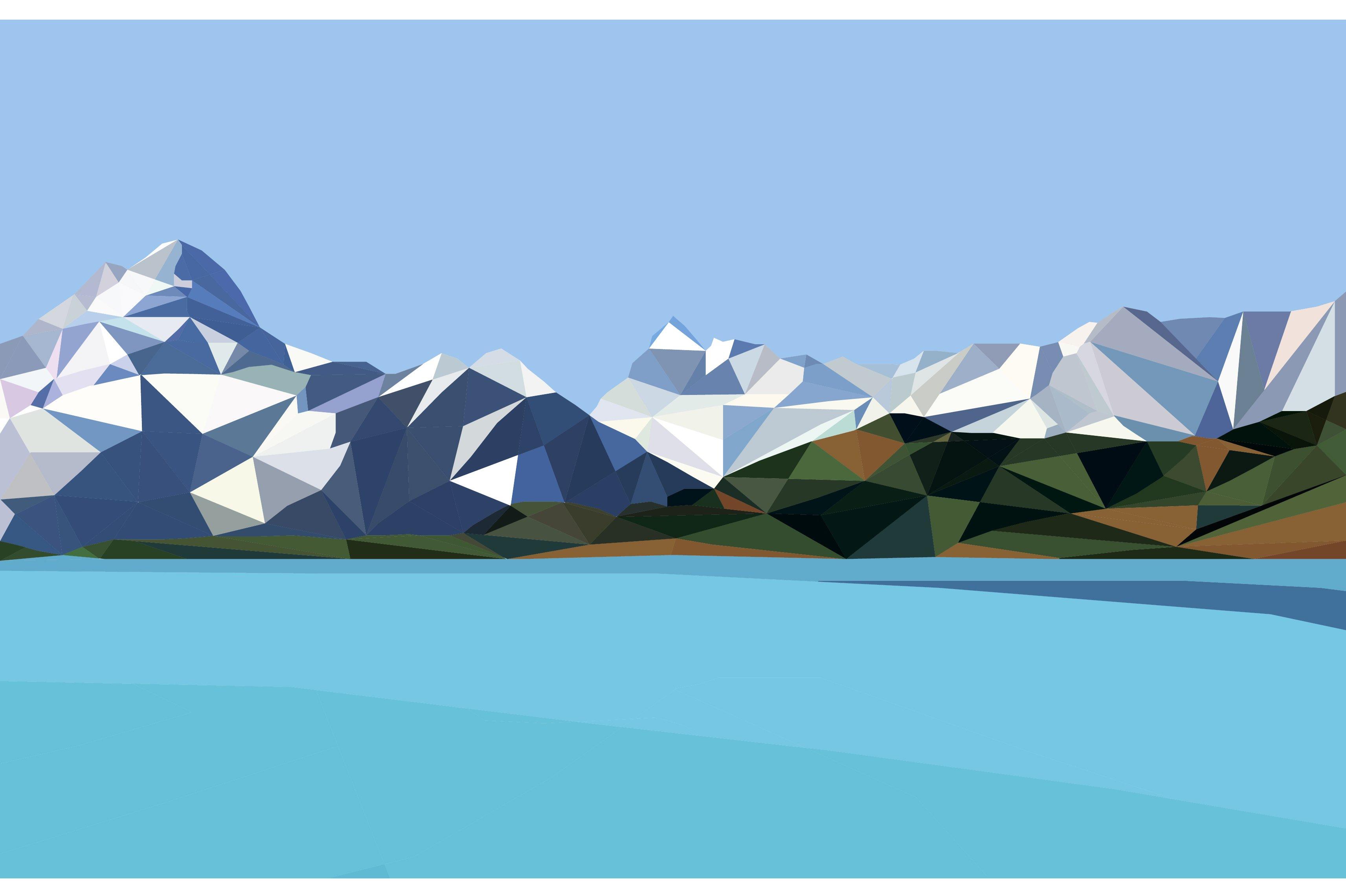 Town Landscape Vector Illustration: Vector Landscape