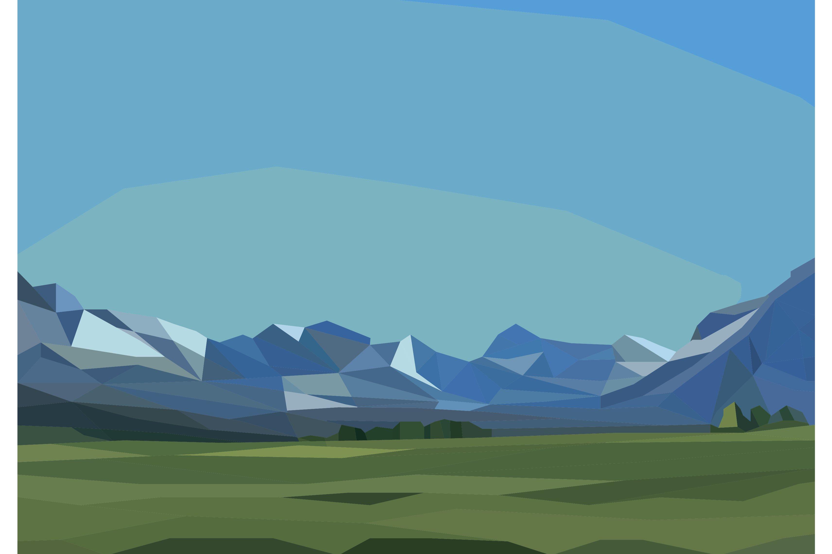 Landscape Illustration Vector Free: Vector Landscape