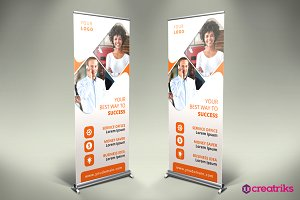Business Roll Up Banner - v052