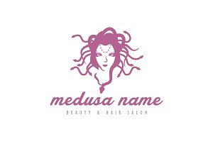 Head of Medusa Logo