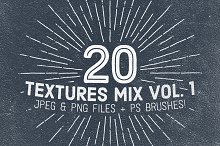 20 Textures Mix Vol. 1