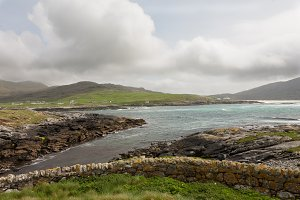 The view from Barra Cemetary