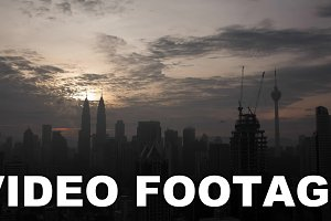 Time lapse panoramic view