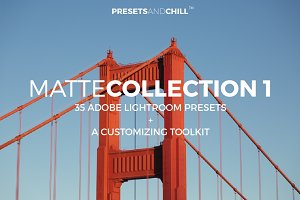 MATTE Collection 1 - Adobe Lightroom
