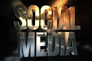 Social Media 3D Render