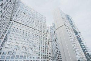 skyscraper apartment building