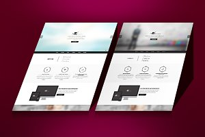 Mirr0rs - One Page HTML5 Template