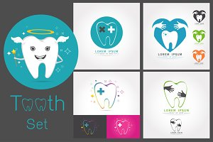 Dental logos templates