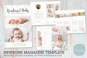 PG023 Newborn Photography Magazine