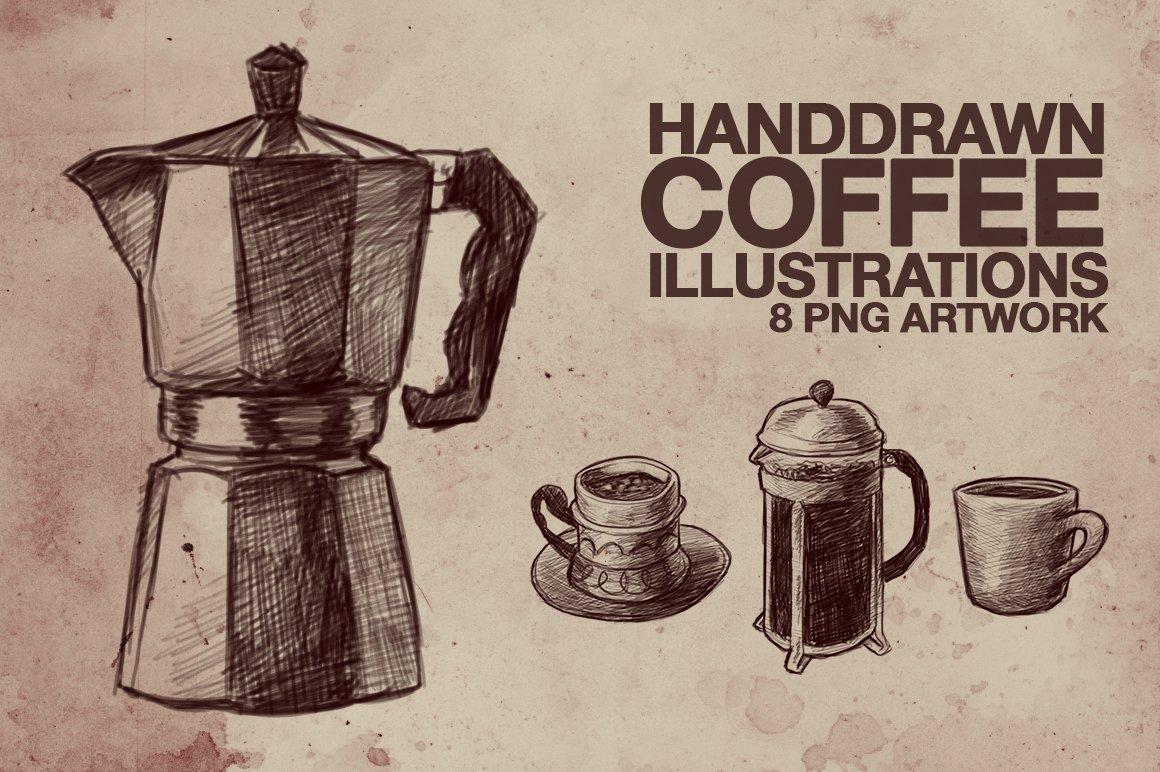 Hand Drawn Coffee Illustrations Creative Market