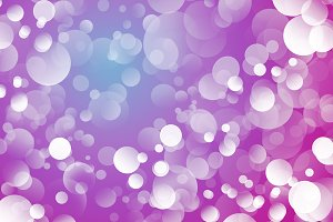 Festive background with bokeh