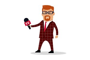 Media Worker Character