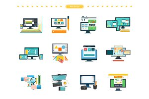Set of Web Design