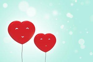 balloons heart