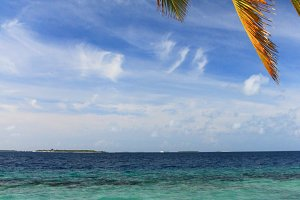 Maldivian beach (vertical)