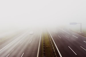 highway break of dawn