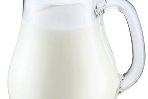 Jag of milk