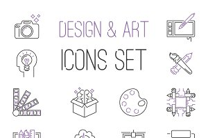 Designers team icons vector
