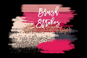 Christmas Brush Strokes