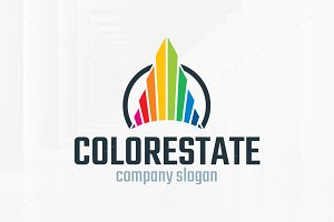 Color Estate Logo Template