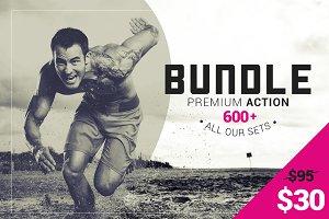 600+ Premium Photoshop Actions