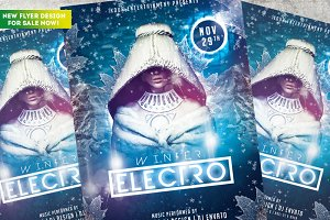 Winter Electro Flyer