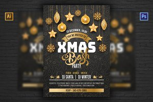 ❆ Christmas Party Invitation