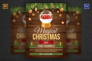 ❆ Christmas Party Flyer