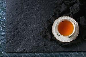 Vintage cup of tea