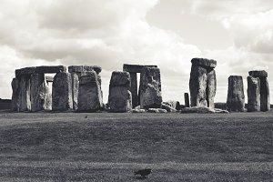 Stonehenge and Ravens in Gothic