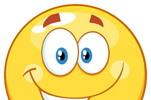 Happy Smiley Yellow Emoticon