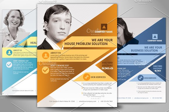 Multipurpose business flyer poster flyer templates creative market multipurpose business flyer poster flyers fbccfo Image collections