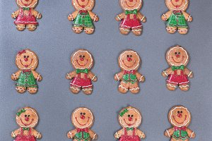 Gingerbread cookies for Xmas