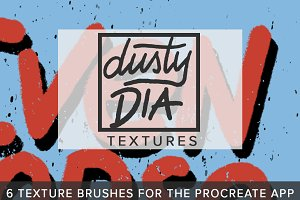Dusty Dia Texture for Procreate App