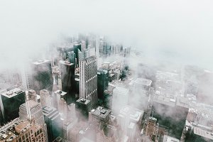 Chicago In Mist
