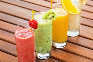 All sorts of smoothie